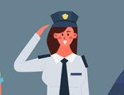 polizia fuori servizio